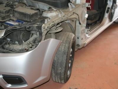 Ремонт в малярно-кузовном цехе А24